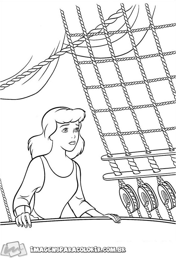 Cinderela no barco