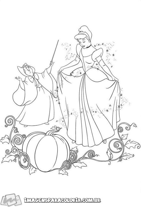 Fada Madrinha e Cinderela
