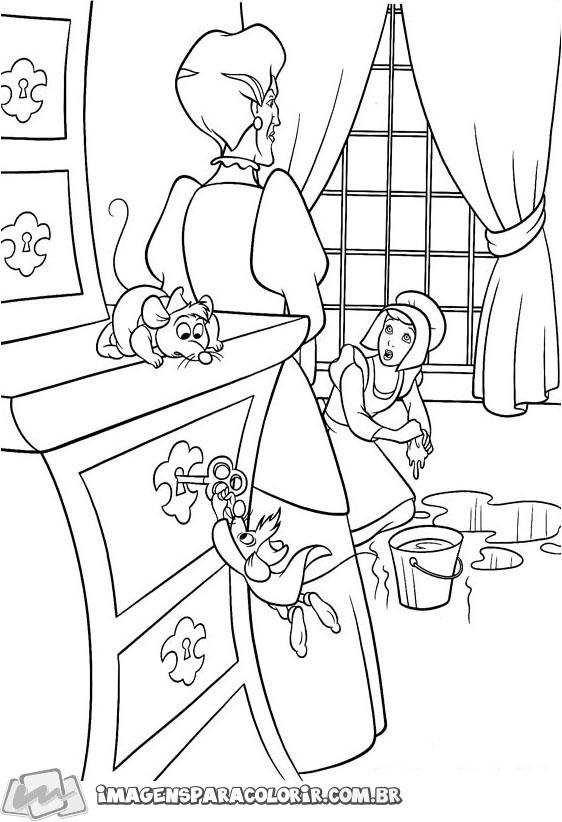 Lady Tremaine e Cinderela