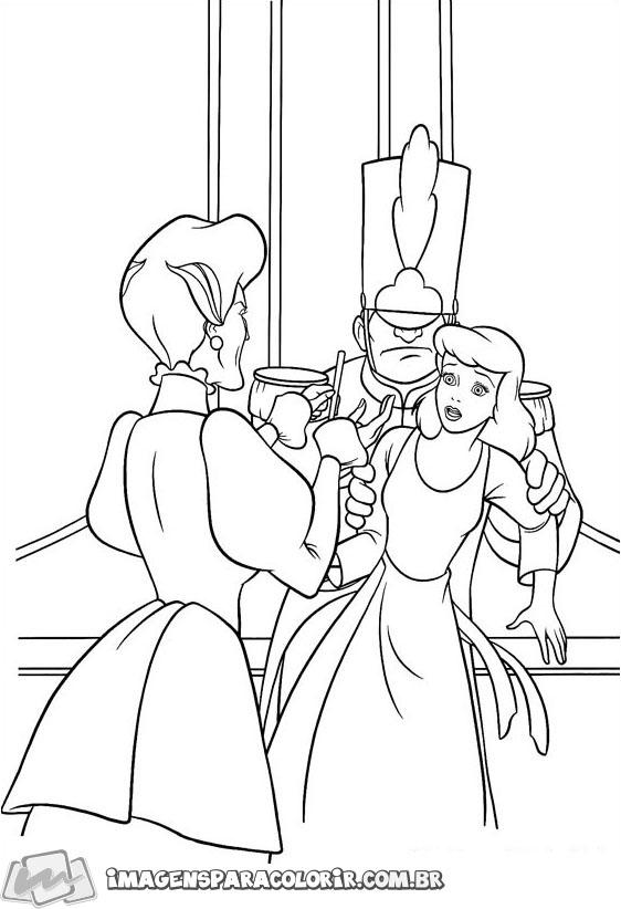 Lady Tremaine e Cinderla
