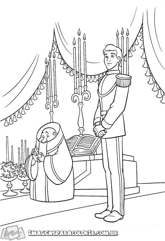 Principe Encantado no altar