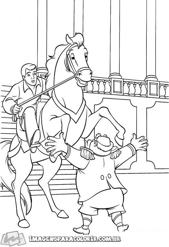 Principe Encantado no cavalo